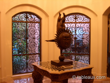 Delightful Tableaux Faux Iron Grilles Residential Windows 2 ...