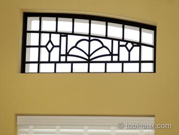 ... Tableaux Faux Iron Grilles Residential Windows 6